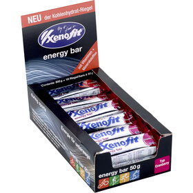 Xenofit Energy Bar Box 18x50g Cranberry